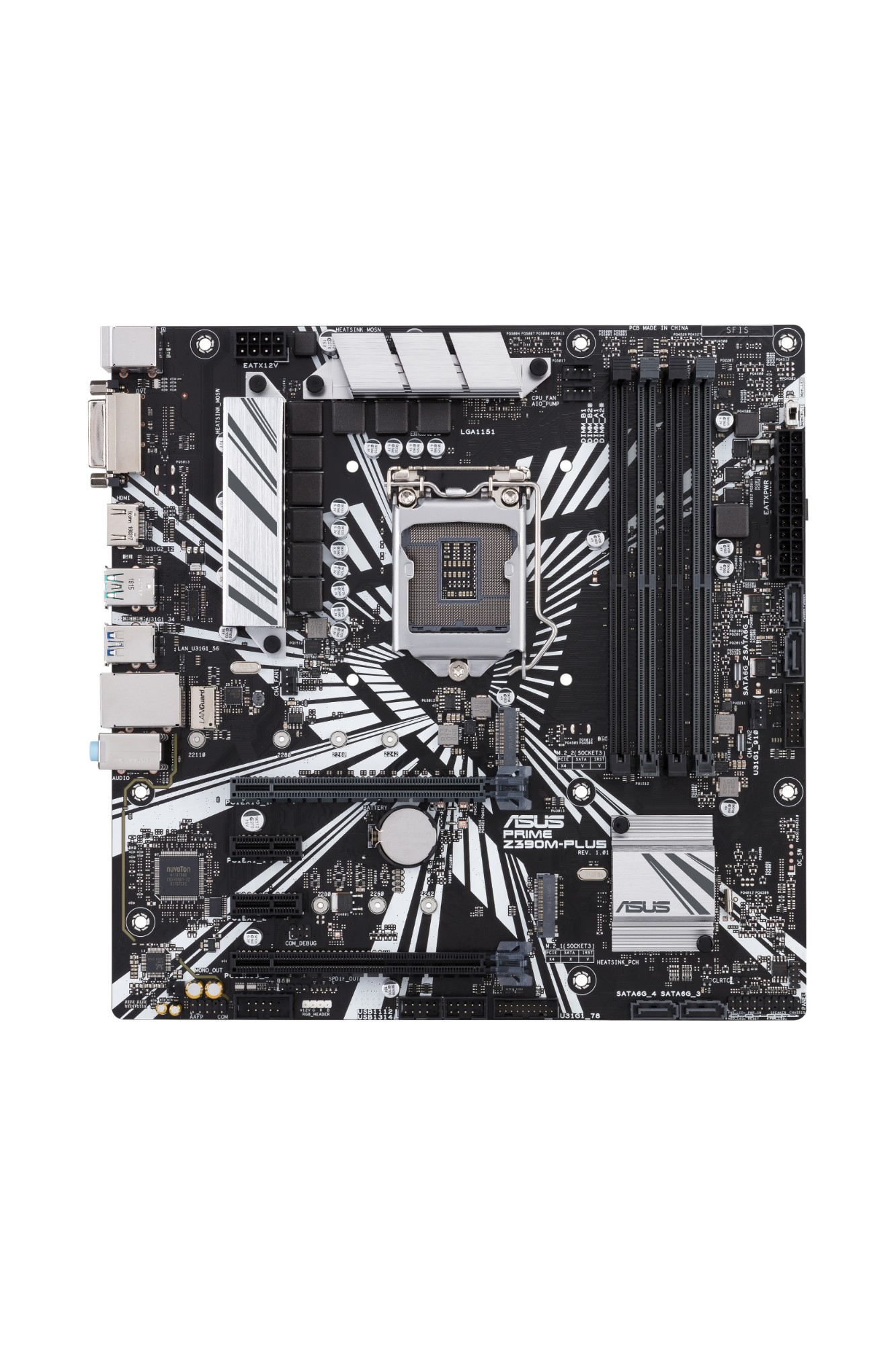 ASUS PRIME Z390M-PLUS LGA 1151 (Socket H4) Intel Z390 micro ATX
