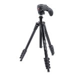 Manfrotto MKCOMPACTACN-BK tripod Digital/film cameras 3 leg(s) Black