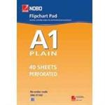 Nobo Flipchart Pad Plain 40 Sheets (A1)