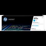 HP W2031X (415X) Toner cyan, 6K pages