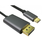 Cables Direct USB3C-8KDP-1M video cable adapter USB Type-C DisplayPort Black