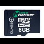 MicroMemory MMMICROSDHC4/8GB 8GB MicroSDHC Class 4 memory card