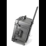 Leba NCASE-10LAP-SC multimedia cart/stand Multimedia cart/trolley Black Notebook
