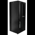 Lanview LVR248060 rack cabinet 42U Freestanding rack Black
