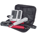 Intellinet 780070 cable preparation tool kit Black