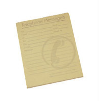 Challenge Telephone Message Pad 80 Sheets 127x102mm Yellow Paper [Pack 10]