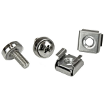 StarTech.com 100 Pkg M5 Mounting Screws and Cage Nuts for Server Rack Cabinet