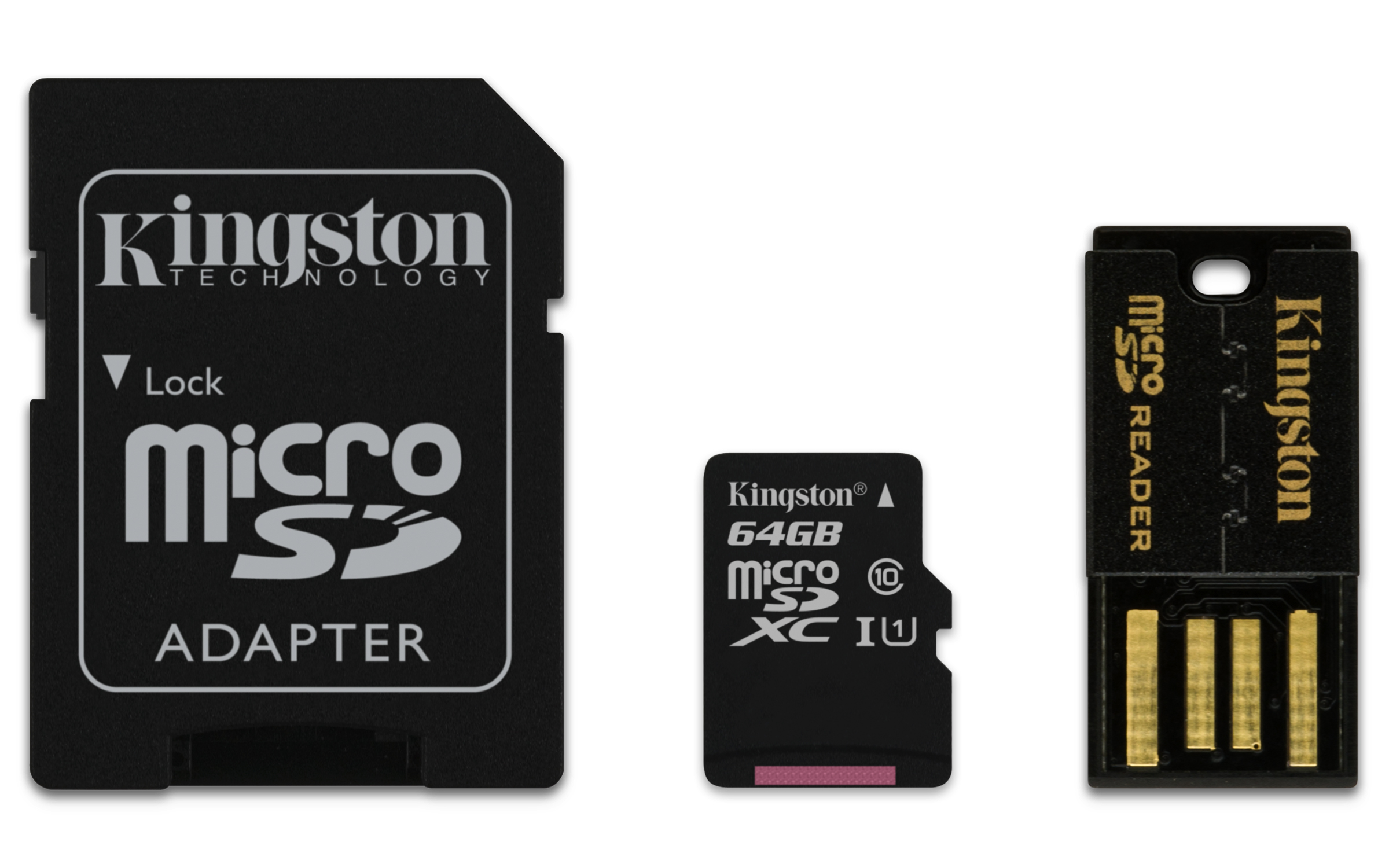 Kingston Technology Mobility kit / Multi Kit 64GB 64GB MicroSDXC UHS Class 10 memory card