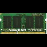 Kingston Technology ValueRAM KVR16LS11/8 memory module 8 GB 1 x 8 GB DDR3L 1600 MHz