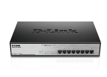 D-Link DGS-1008MP network switch