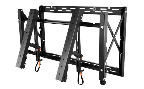 "Peerless DS-VW765-LAND signage display mount 165,1 cm (65"") Negro"