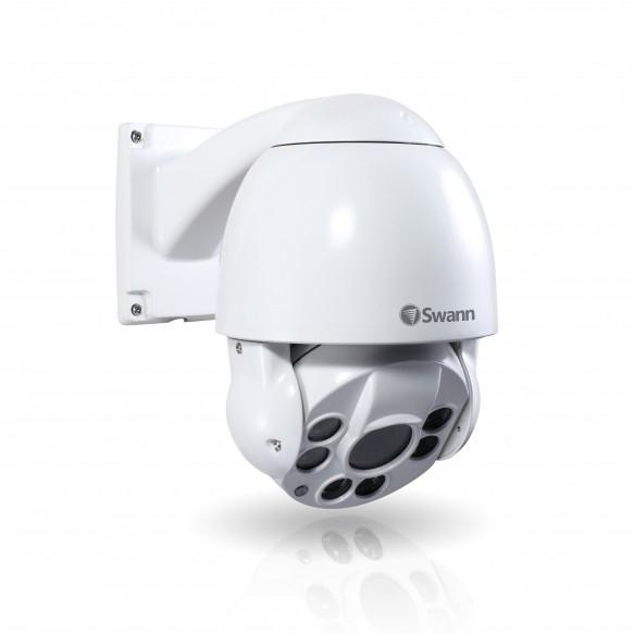Swann NHD-817 Pan-Tilt-Zoom Super HD Dome Camera IP Dome White
