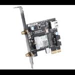 Gigabyte GC-WBAX200 networking card Internal WLAN / Bluetooth 2400 Mbit/s