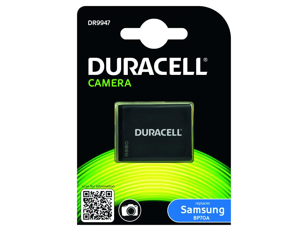 Duracell Camera Battery - replaces Samsung BP70A Battery