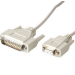 Videk 1060 3m DB-25 DB-9 White serial cable