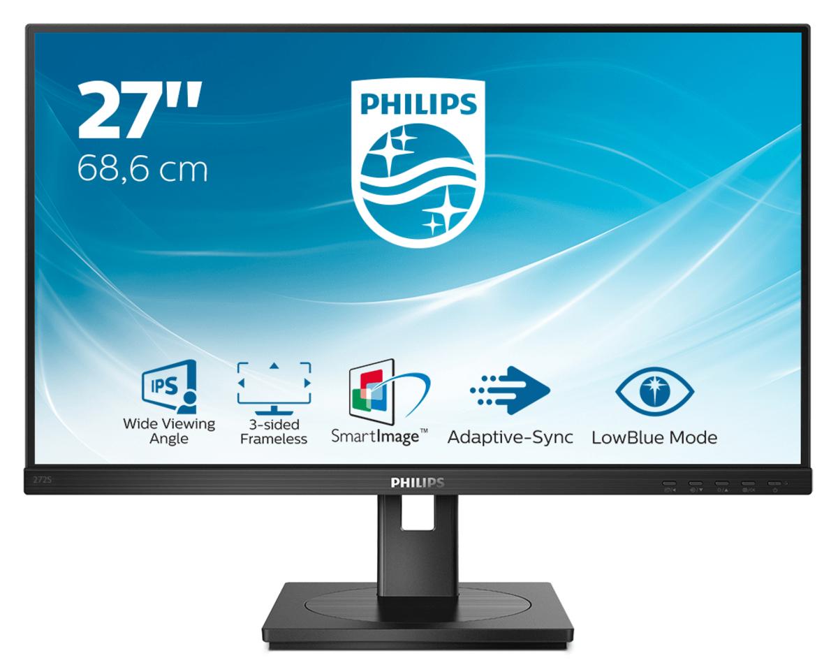 "Philips S Line 272S1AE/00 LED display 68,6 cm (27"") 1920 x 1080 Pixeles Full HD LCD Negro"