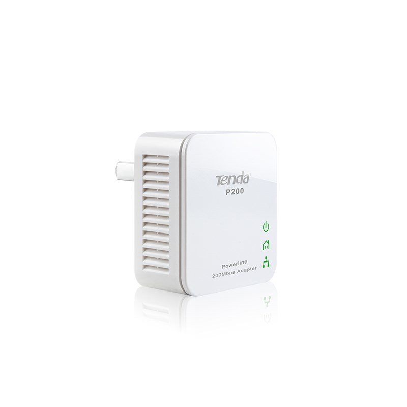 Tenda P200 Kit Network repeater White 10, 100Mbit/s