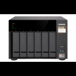 QNAP TS-673 Ethernet LAN Desktop Black NAS