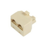 Microconnect RJ45/2 x RJ45 network splitter Beige