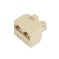 Microconnect RJ45/2 x RJ45 network splitter Beige