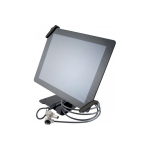 Hypertec 915122-HY multimedia cart/stand Multimedia stand Black Tablet