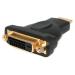StarTech.com Adaptador HDMI a DVI - DVI-D Hembra - HDMI Macho - Conversor - Negro