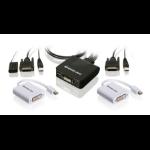 iogear GCS922MDPKIT Black KVM switch