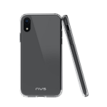 NVS Quartz Case Slim, compact design for iPhone Xr - Clear