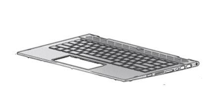 HP L18953-B31 notebook spare part Housing base + keyboard