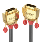Lindy 36216 DVI cable 15 m DVI-D Gold