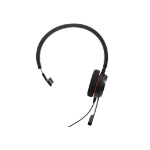 Jabra Evolve 20 MS Mono Monauraal Hoofdband Zwart hoofdtelefoon