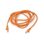 """Belkin High Performance Cat6 Cable 25ft Orange networking cable 295.3"""" (7.5 m)"""