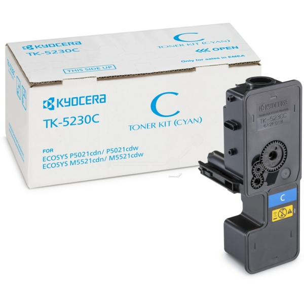 KYOCERA 1T02R9CNL0 (TK-5230 C) Toner cyan, 2.2K pages