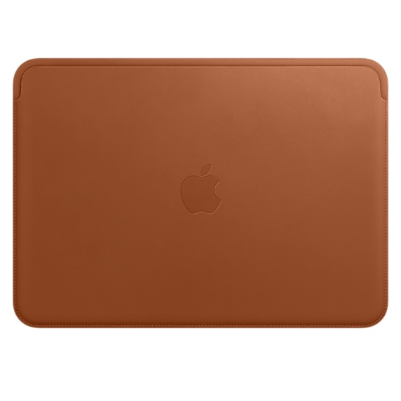 Leather Sleeve - 12in - MacBook - Saddle Brown