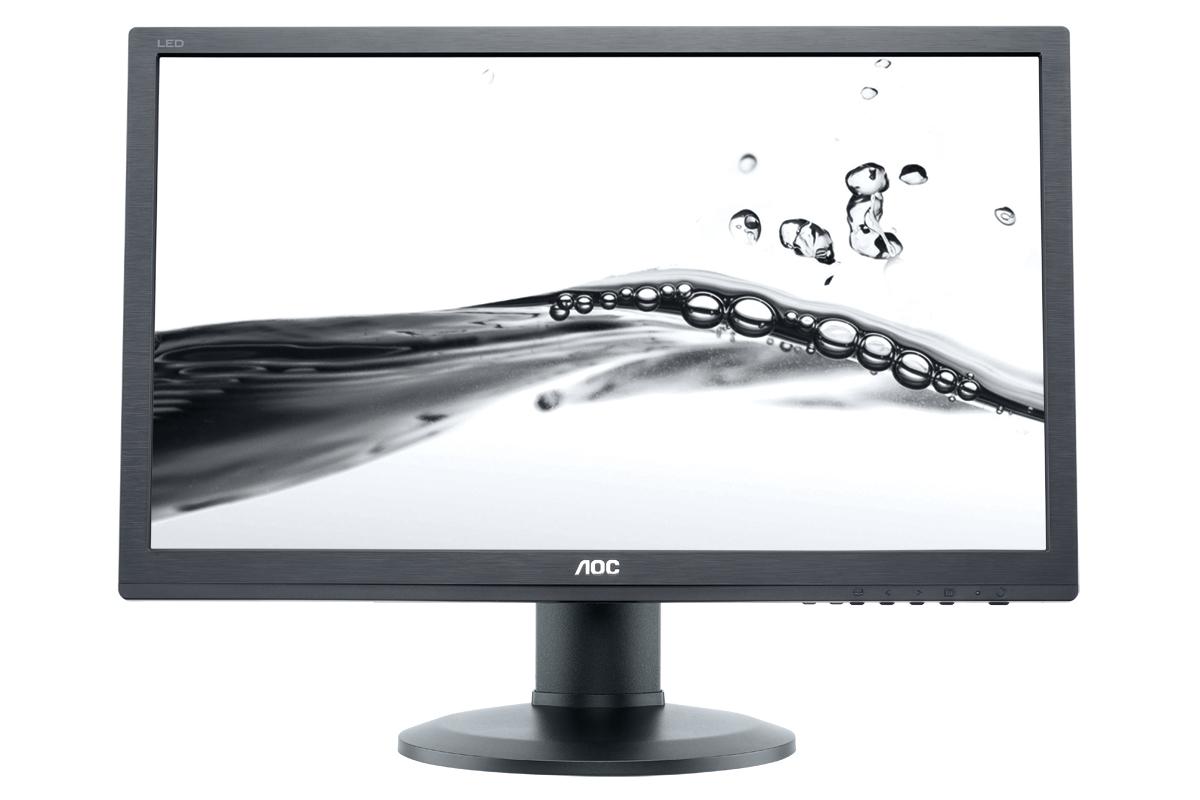 """AOC e2460Phu 24"""" Black Full HD"""