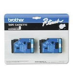 Brother TC22 white label tape (Standard Yield)