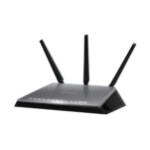 Netgear AC1900 Nighthawk wireless router Dual-band (2.4 GHz / 5 GHz) Gigabit Ethernet Black