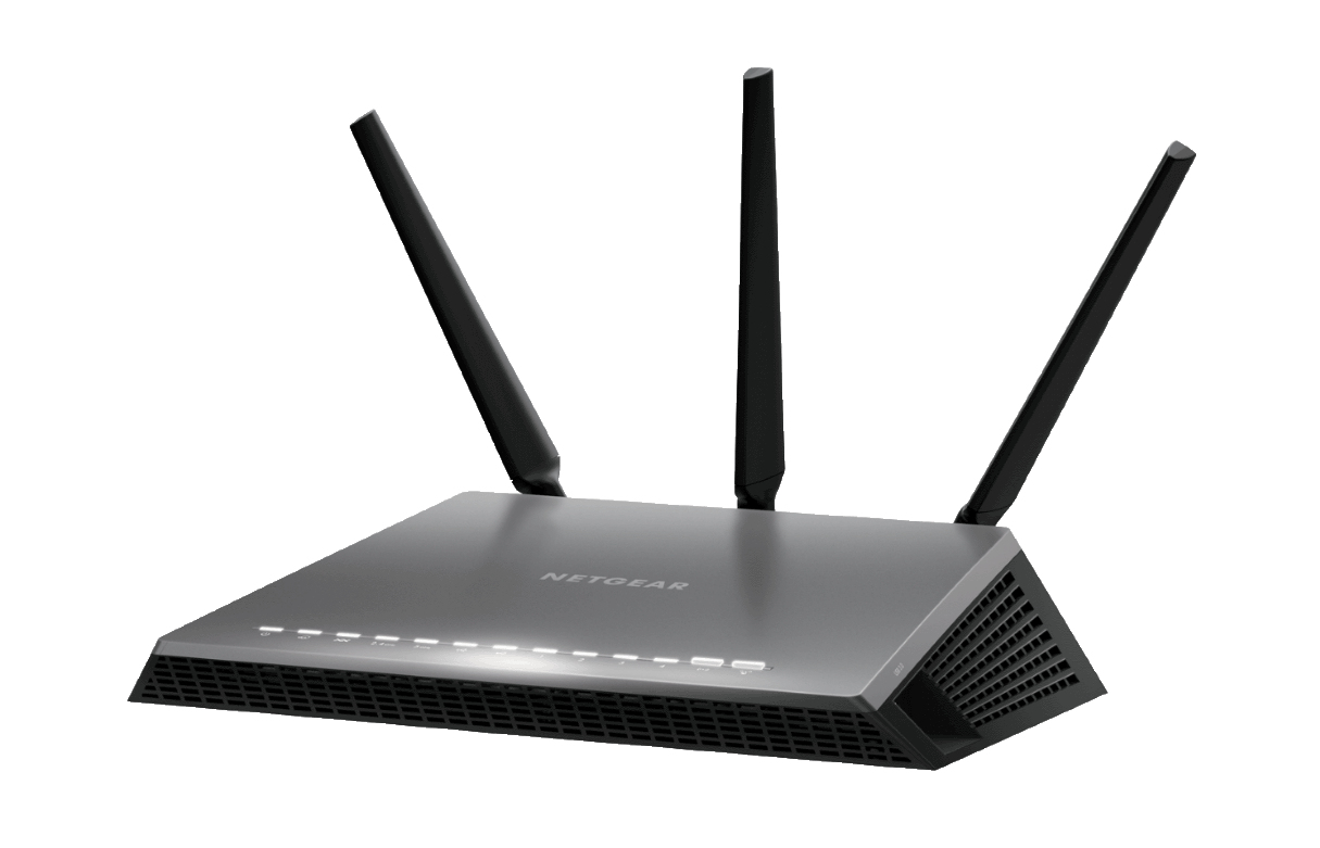 Netgear AC1900 Nighthawk Dual-band (2.4 GHz / 5 GHz) Gigabit Ethernet Black wireless router