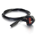 C2G Cbl/3m BS1363 to IEC 60320 C7 Pwr Cord