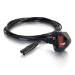 C2G Cbl/3m BS1363 to IEC 60320 C7 Pwr Cord