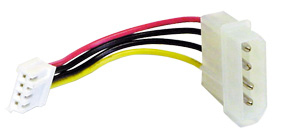 Lindy Power Adaptor Cable, 0.1m power cable Multicolor