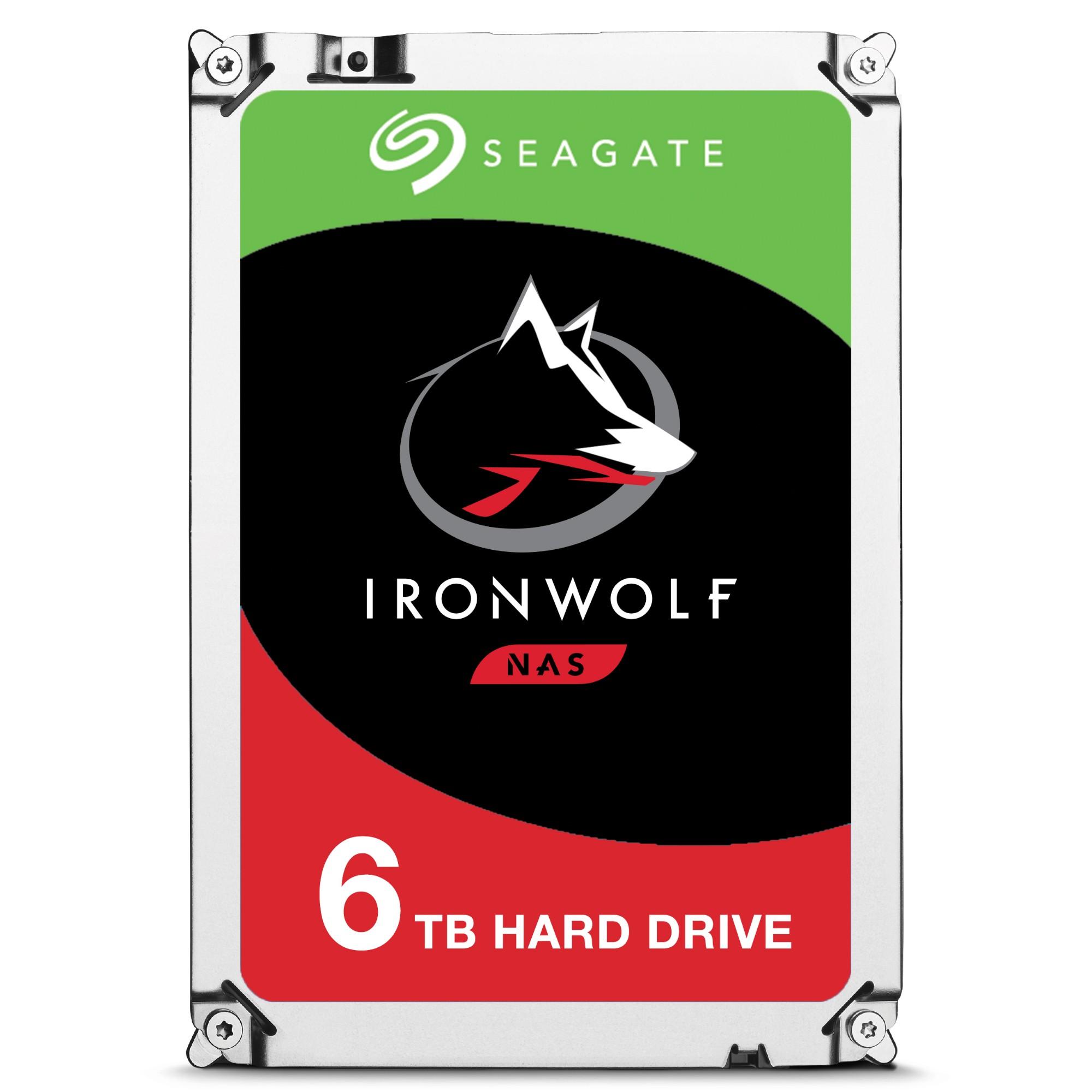 "Seagate IronWolf ST6000VN0033 internal hard drive 3.5"" 6000 GB Serial ATA III"
