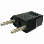 ASUS 0A200-00020900 power plug adapter Type C (Europlug) Black