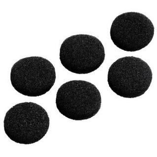 Hama 122683 SCHAUMSTOFF-ERSATZOHRPO headphone pillow Black Foam 6 pc(s)