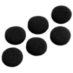 Hama 122683 SCHAUMSTOFF-ERSATZOHRPO headphone pillow Black Foam 6 pc(s)
