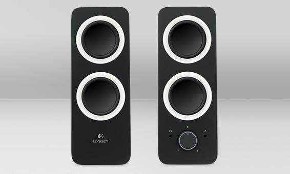 Logitech Z200 10W Black loudspeaker