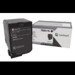 Lexmark 75B0010 Toner black, 13K pages