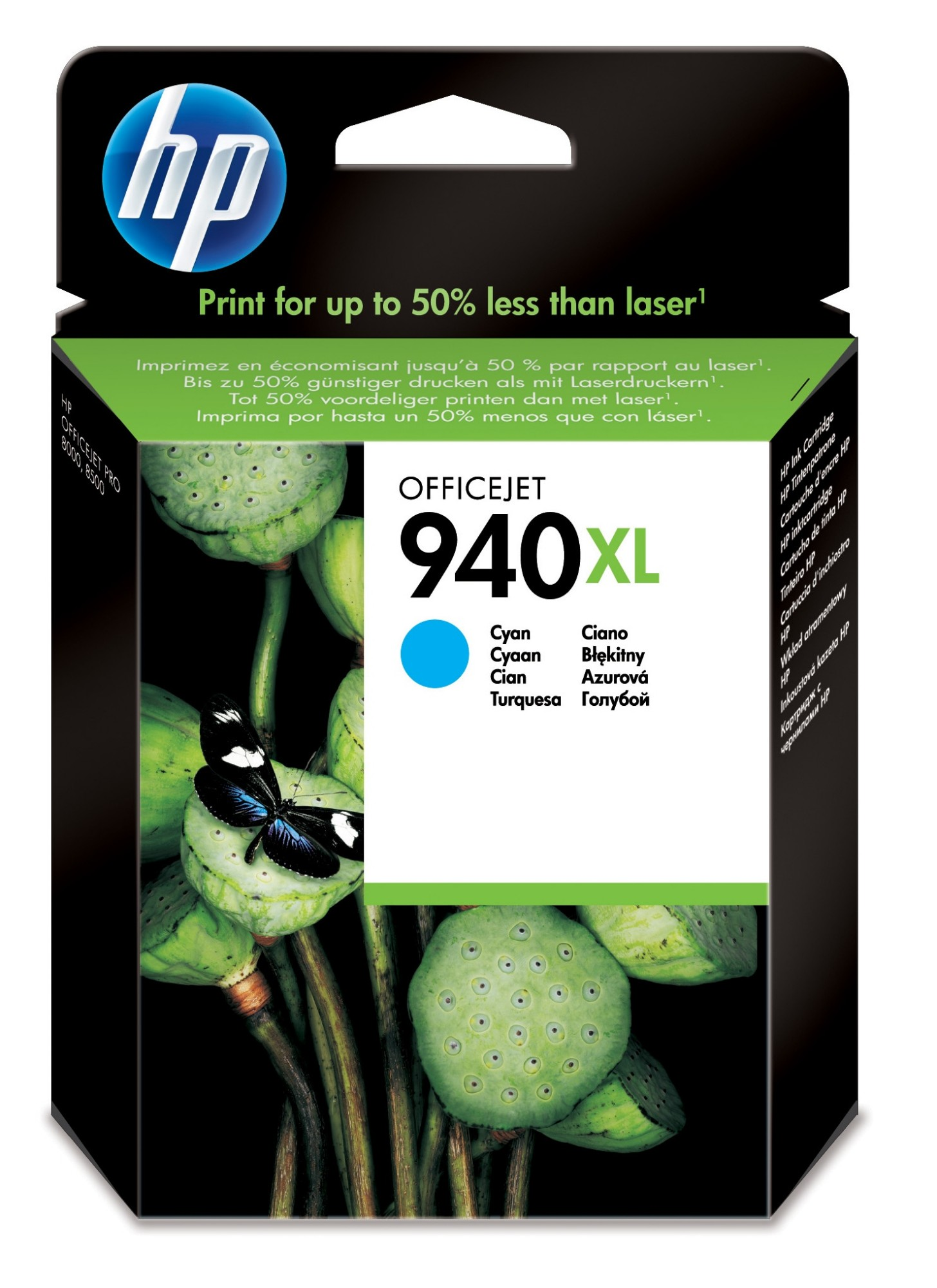 HP 940XL Original Cian 1 pieza(s)