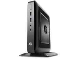 HP Flexible Thin Client t520 - Thin client - tower - 1 x GX-212JC 1.2 GHz - RAM 4 GB - SSD 8 GB - GigE
