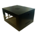 LMS EcoNetCab 12U 19-Inch Deep Black Wall Mounting Network Cabinet, 550x450x600mm (CAB-W12U-EL450)